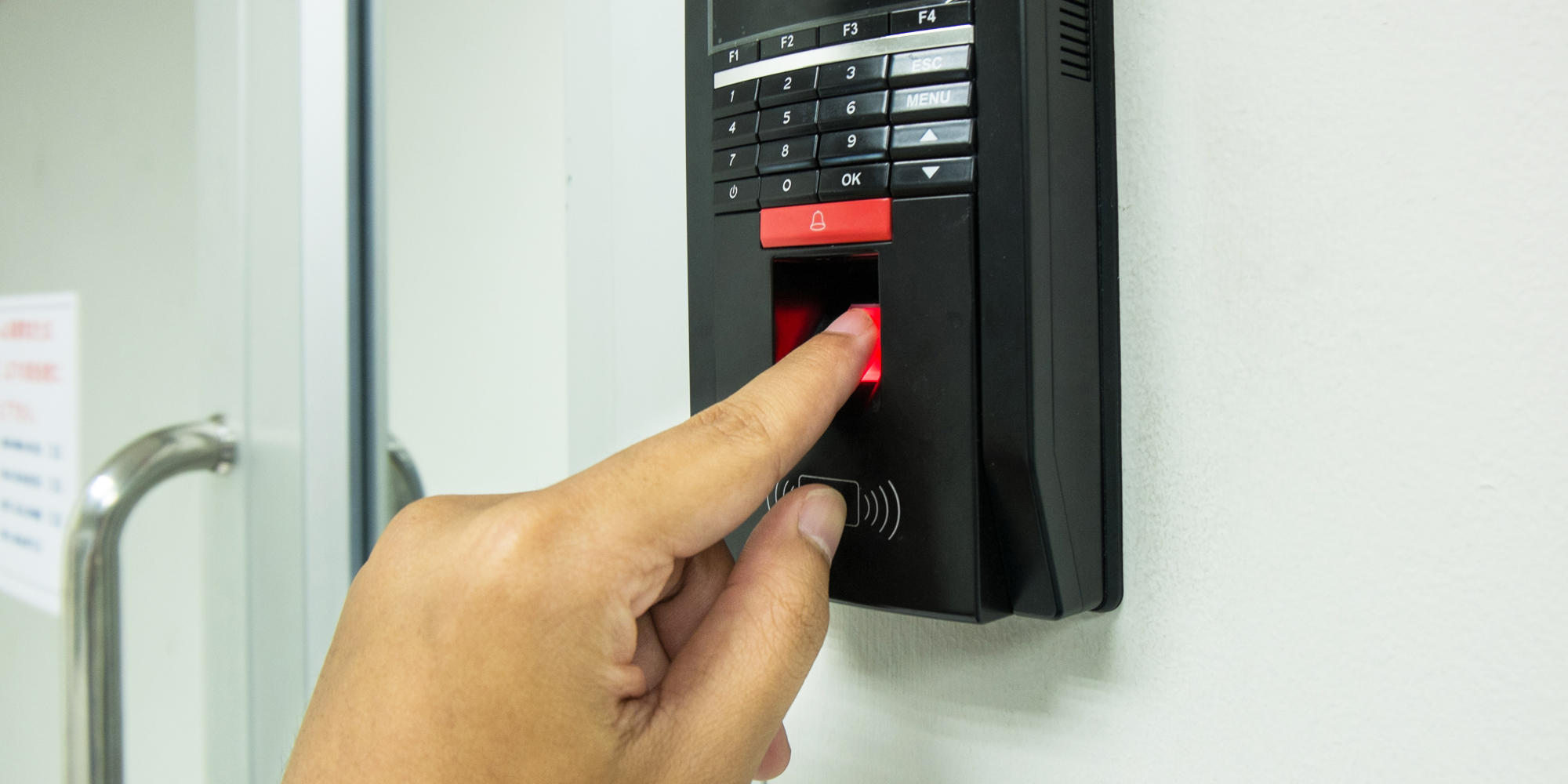 Industrial grade access control products in singapore for 1 touch fingerprint door lock