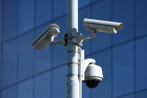 cctv industrial cctv security surveillance systems lamp post bullet dome camera